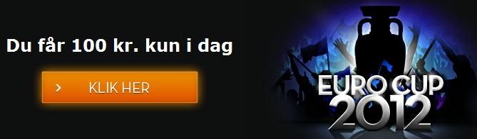 Du får 100 kr. kun i dag til kampen Danmark-Portugal på Betsson