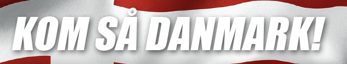 Kom så Danmark! Danske Spil har EM Bonus og godt odds på dansk sejr i morgen!