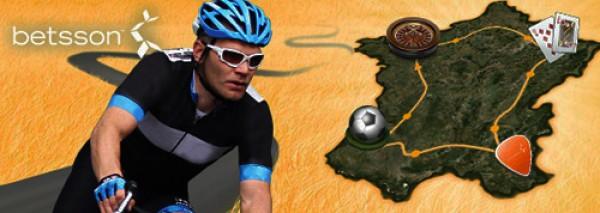 Tour de France er i gang! Få et 300 kr. gratis bet fra Betsson!