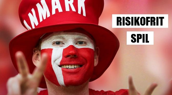 Få risikofrit spil på landskampen mellem England og Danmark!